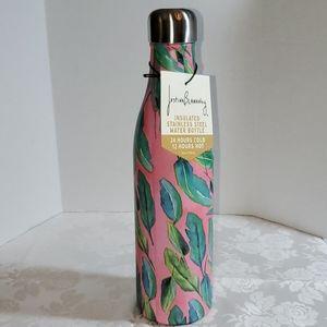 "Studio Oh! ""Botanicals On Blush"" Water Bottle"